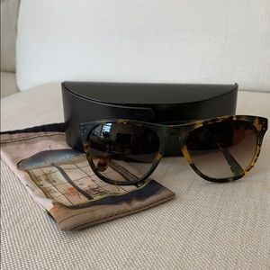 Oliver Peoples Daddy B tortoise shell sunglasses